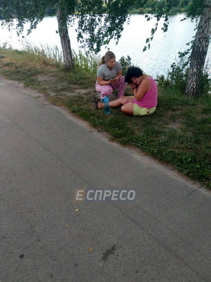 Под Киевом тренер по тэквон-до избил женщину за замечание о мусоре