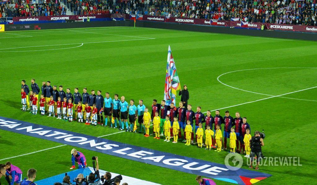 ВЧехии наказали группу футбольных фанатов из Украинского государства
