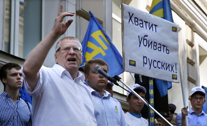 Жириновский: Блокада угля с Донбасса может привести к победе Меркель на выборах