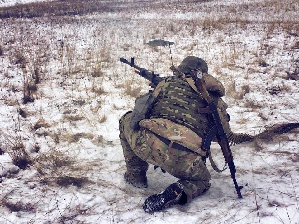 Военные оставили никишино близ