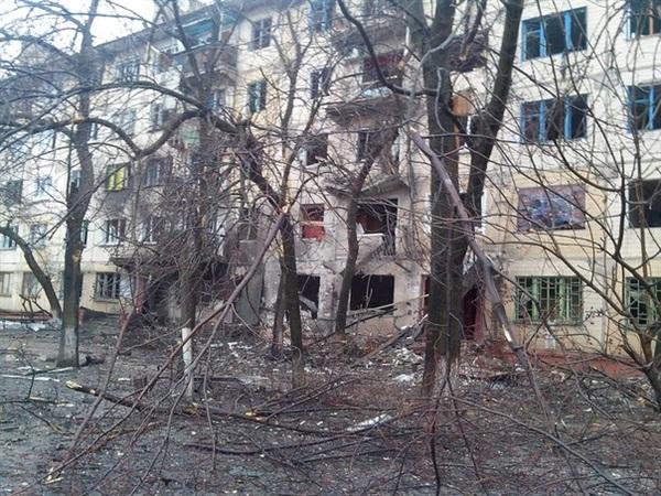 Трехдневный обстрел Горловки: ужасные последствия (фото), фото - Общество. «The Kiev Times»