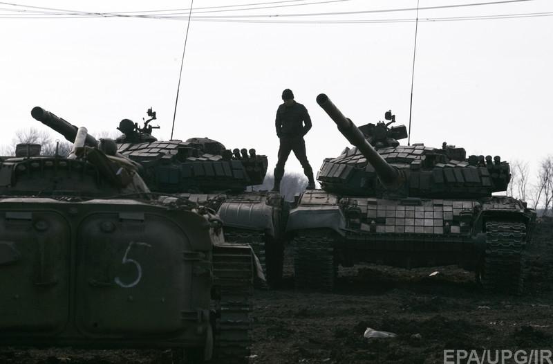 """Вчера на Донбассе на мине подорвался БТР ВСУ: 3 воина погибли, 5 - ранены, - пресс-офицер сектора """"Б"""" - Цензор.НЕТ 3317"""