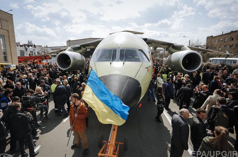New Ukrainian plane An-178