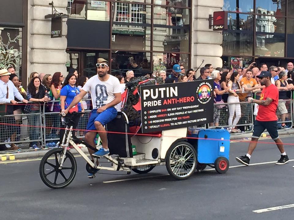 Гей-парад во многих городах мира (фото)