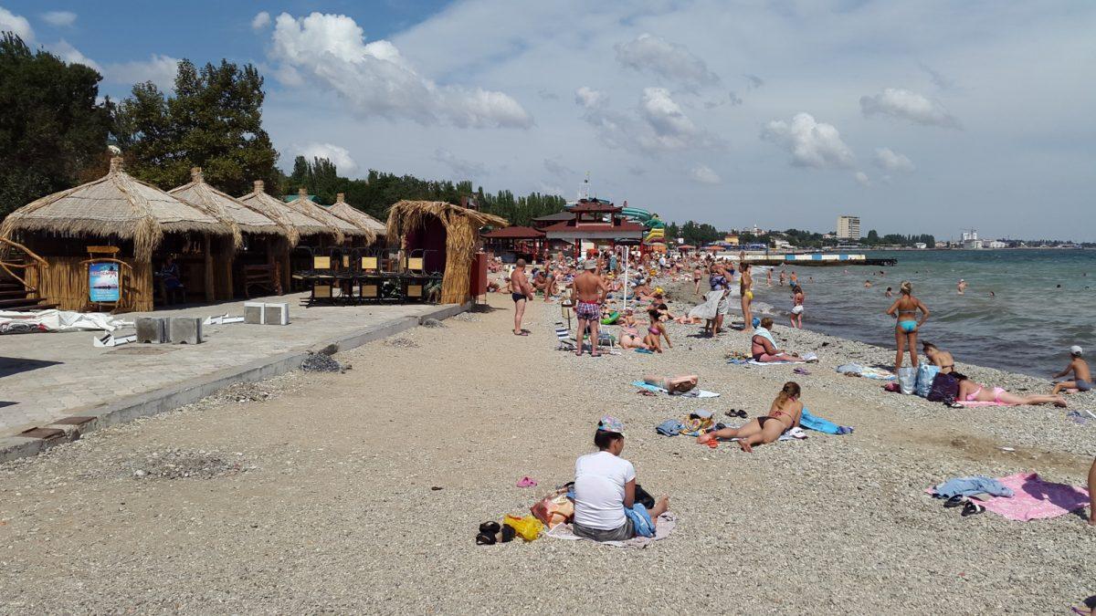 Пляжи динамо в феодосии фото