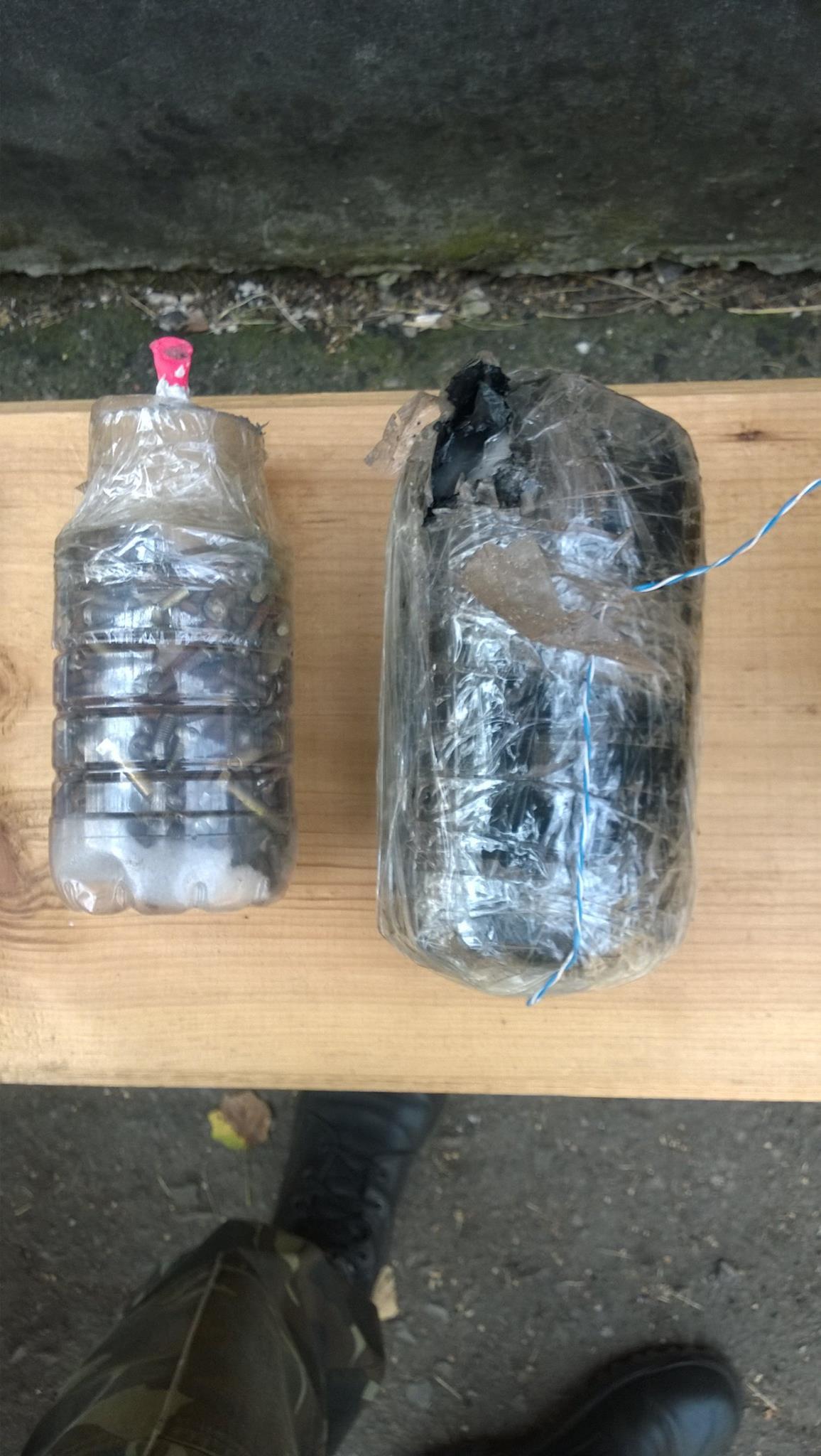 Как сделать бомбочку в бутылке