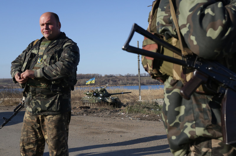 В результате атаки на Марьинку погибло три мирных жителя, - МВД - Цензор.НЕТ 1181